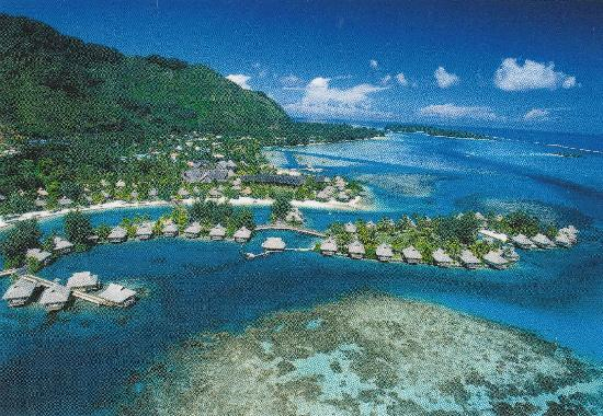 Intercontinental Moorea View Of The Resort Picture Of