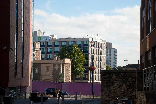 Holiday Inn Express Bristol City Centre: View from afar