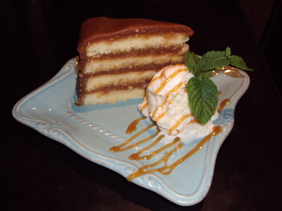 Crady's Eclectic Cuisine on Main: Truly Southern Caramel Cake