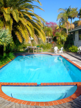Colonial House Motel: Colonial Poolside