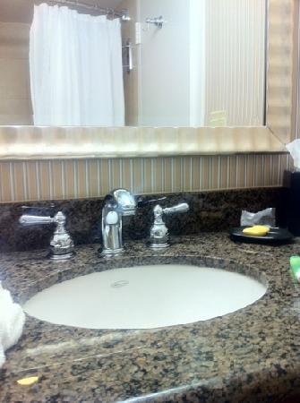 Sheraton Oklahoma City Downtown Hotel : sink and countertop