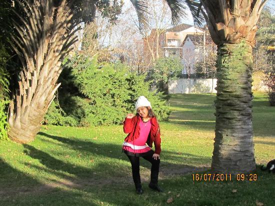 Hotel Villa Victoria de Tigre: foto en el parque del hotel