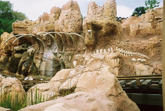 Parque Disneyland: One of the Frontier rides