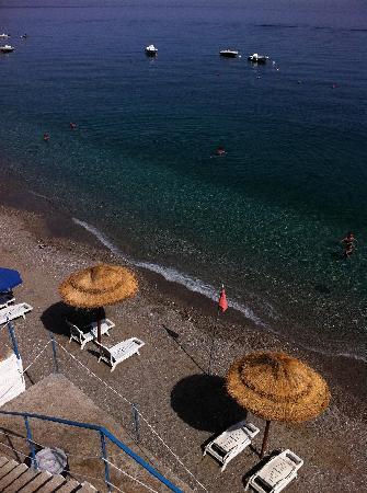 spiaggia del Park Hotel Silemi