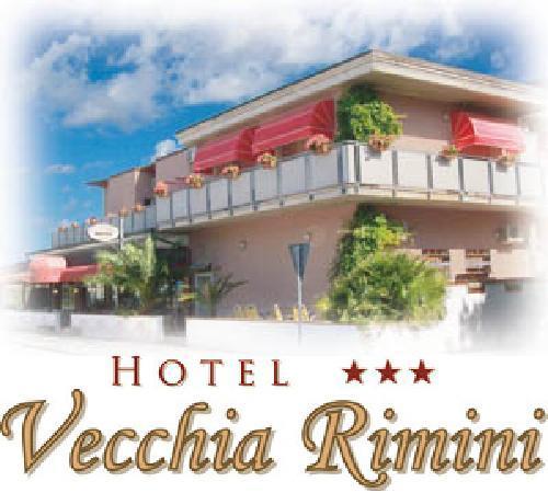 Hotel Vecchia Rimini: Fronte Hotel