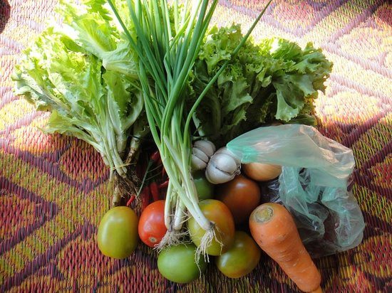 Siem Reap Countryside Cooking Class: Vegetable