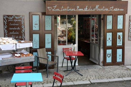 Les Tartines de Martine