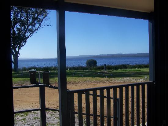 Denmark Rivermouth Caravan Park: View from our Chalet