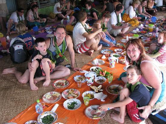 Sigatoka River Safari: Delicious lunch.