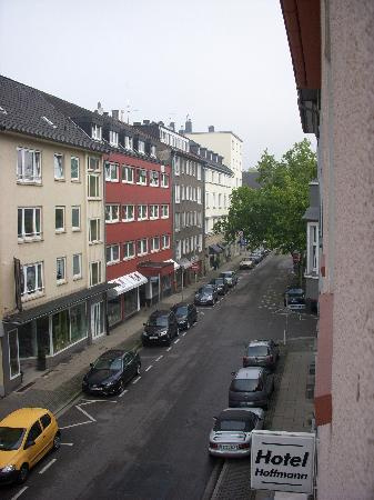 Hotel Hoffmann: view from my room2