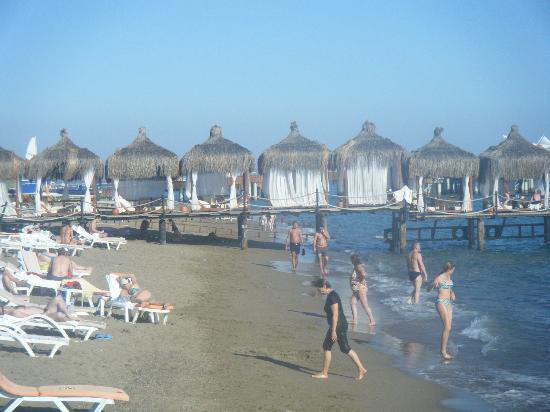 WOW Topkapi Palace: beach area