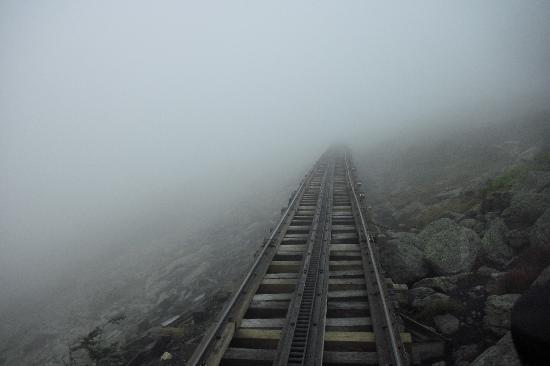 The Mount Washington Cog Railway: Nearing the top