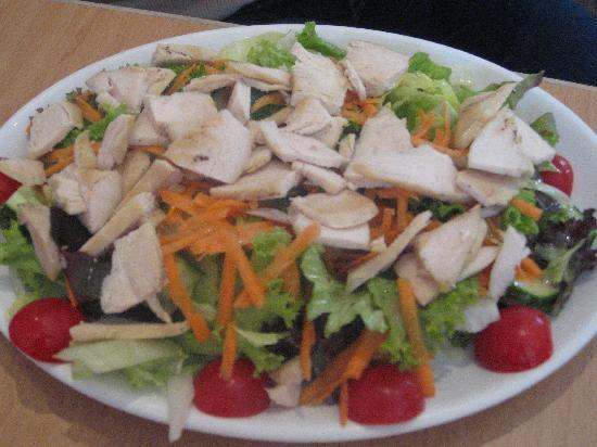 The Buttery Hotel: The Buttery Cafe - Chicken Salad was good