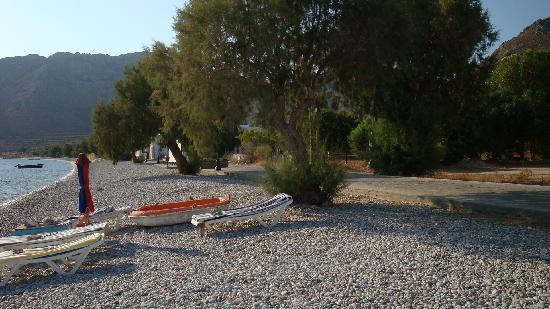Hotel Eleni Beach: The Beach infront of the Hotel