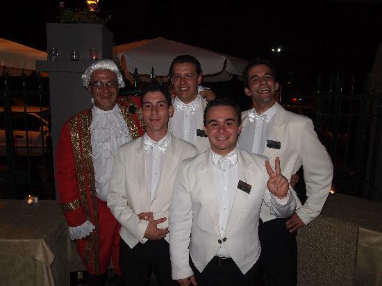 Restaurante Mozart: Simon & his team
