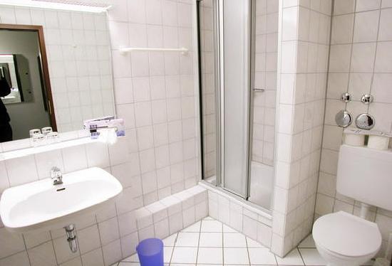 ApartInn Apartmenthotel Heidelberg-Leimen: Badezimmer, Badewanne optional