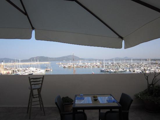 La Terrazza Sul Porto Guest House: the view at your breakfast