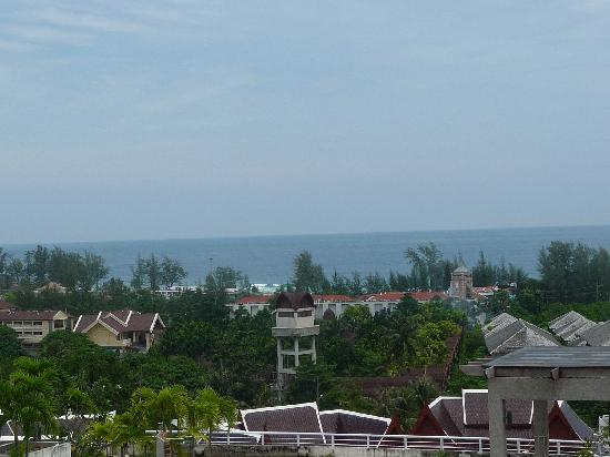 Pacific Club Resort: Views to Karon Beach from our Balcony