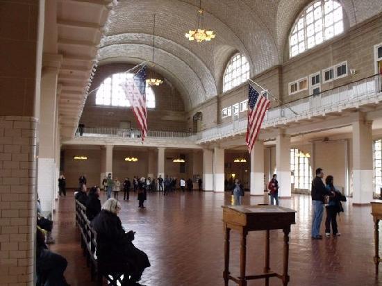 Hall at Ellis Island