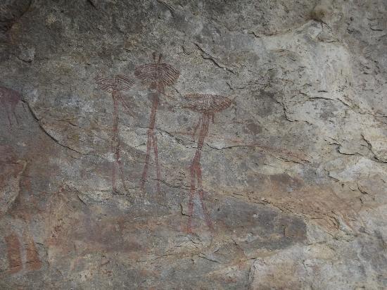 Kondoa Rock-Art Sites: B-sites, red rock art