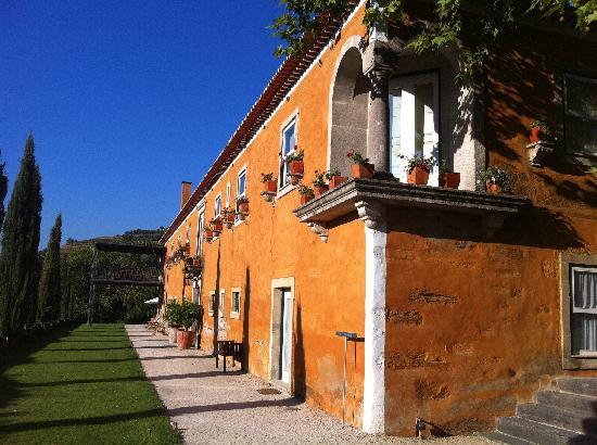 Quinta do Vallado: The manor building