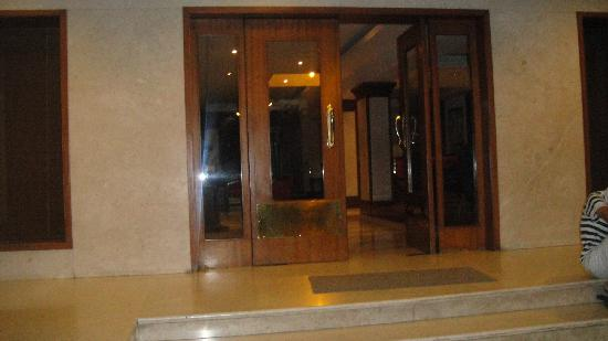 Bhimas Paradise: main entrance door