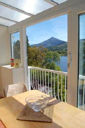 Loch Rannoch Highland Club: Wonderful view from the apartment could look at it all day
