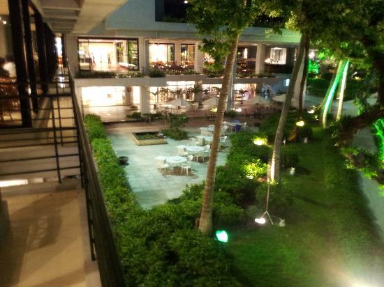 Hotel Moon Beach : レストランでの景色1