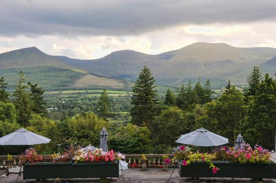 Aherlow House Hotel & Lodges: View from our room