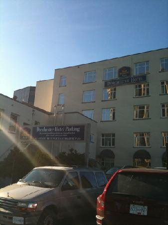 BEST WESTERN  Dorchester Hotel: exterior from parking lot