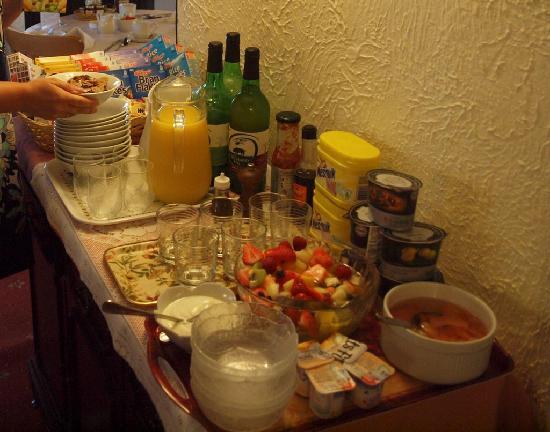 Yew Tree House: Die Vorspeise des eigentlichen Frühstücks. Ist das nicht ein traumhafter Obstsalat?
