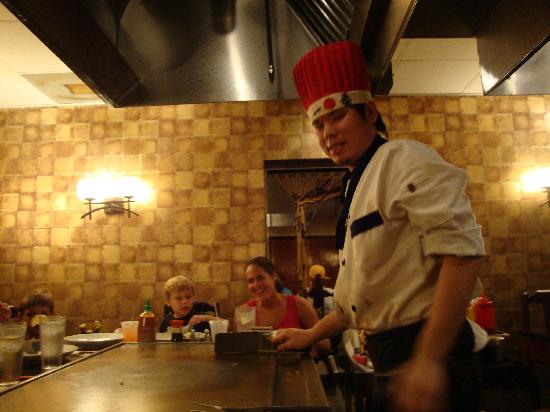 Kono Japanese Steakhouse: our chef