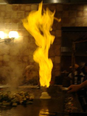 Kono Japanese Steakhouse : onion volcano