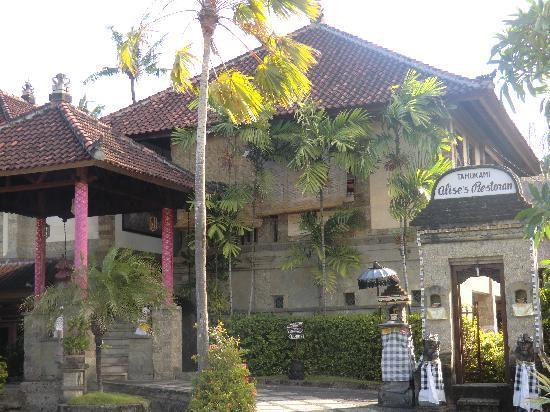 โรงแรม ทามูคามิ: entrée de l'hôtel