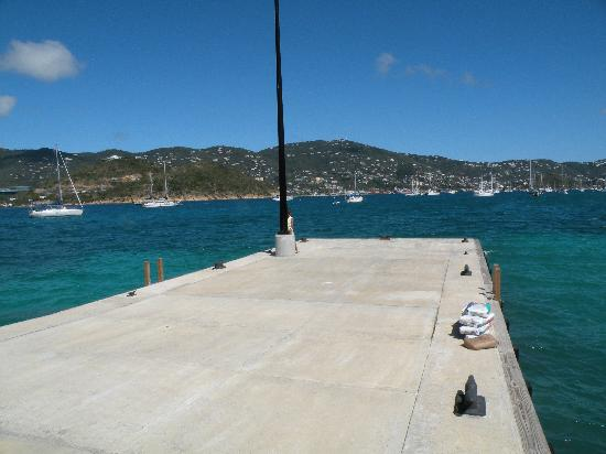 ‪‪Virgin Islands Campground‬: Water Island Ferry Dock‬