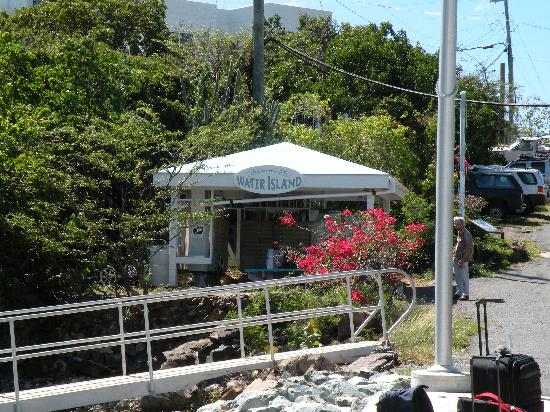 Virgin Islands Campground: Water Island Ferry Dock