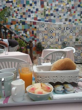 Vila Turistica Conde Fidalgo : la colazione