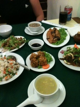 Com Chay Nang Tam