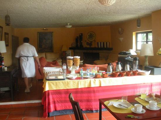 Residencial Casa do Alto: la sala per la colazione