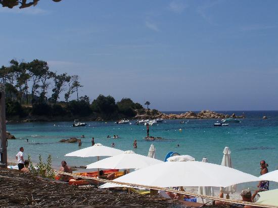 Coti-Chiavari, France: La plage