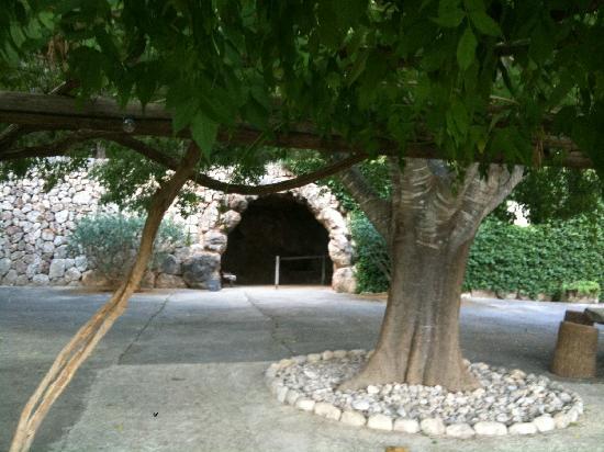Coves de Campanet: la entrada de la cueva