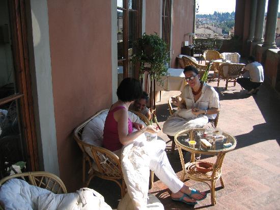 โรงแรมปาราซโซ่ กัวดาก์นี่: Loggia
