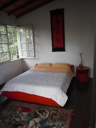 Secret Buddha Hostel Medellin: The Red Room