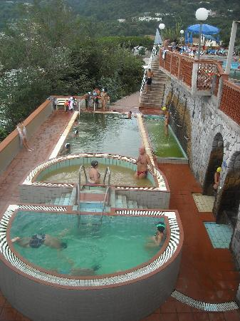 Suisse Thermal Village: Le piscine Termali