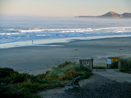 Hallmark Resort: Early morning, looking northwest.