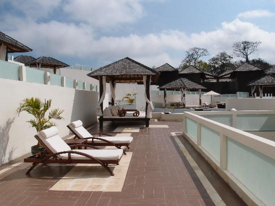 Nusa Dua Retreat and Spa: Rooftop