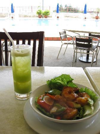 Kudat Golf and Marina Resort: Lunch