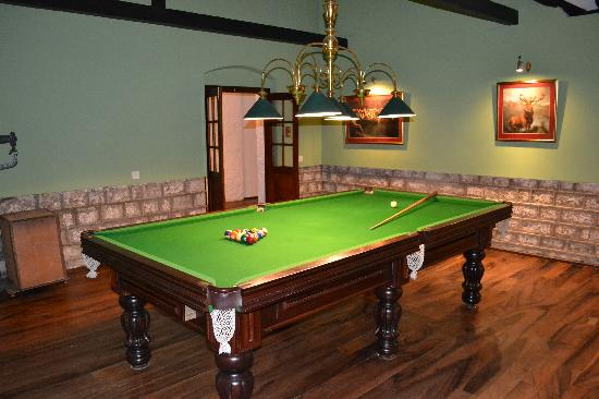 The Lavender House: Billiards Room