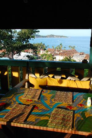 Varinda Garden Resort: view from restaurant