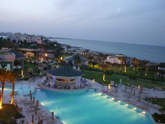 Iberostar Royal El Mansour: vista mare  notte